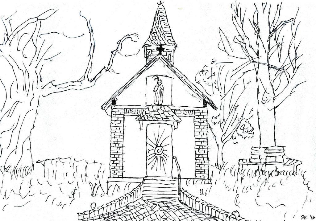 Antoniuskapelle (Skizze)